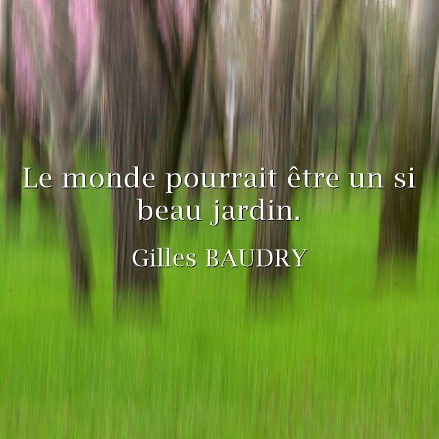 Fulguration : Gilles Baudry par Fanny.
