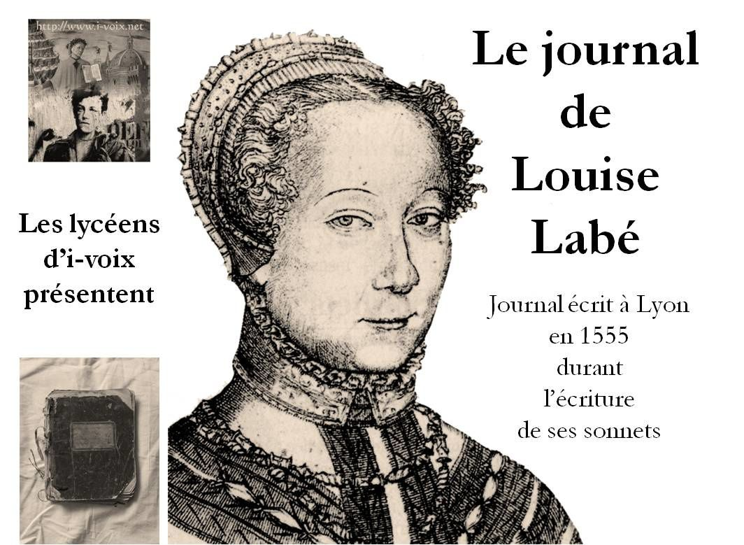 Scoop - On a retrouvé le journal intime de Louise Labé !