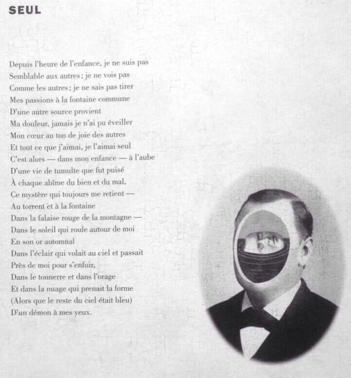 Seul - Edgar Allan Poe