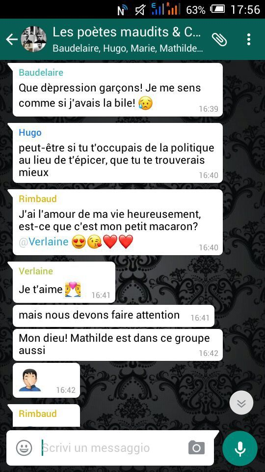 Chat - Les poètes maudits &amp&#x3B; Co.
