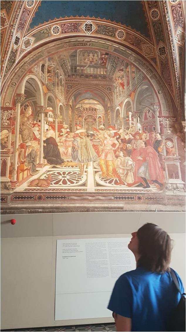 Sienne, Santa Maria della Scala, 07/04/17 14:00 : fresques de la sala del Pelligrinaio