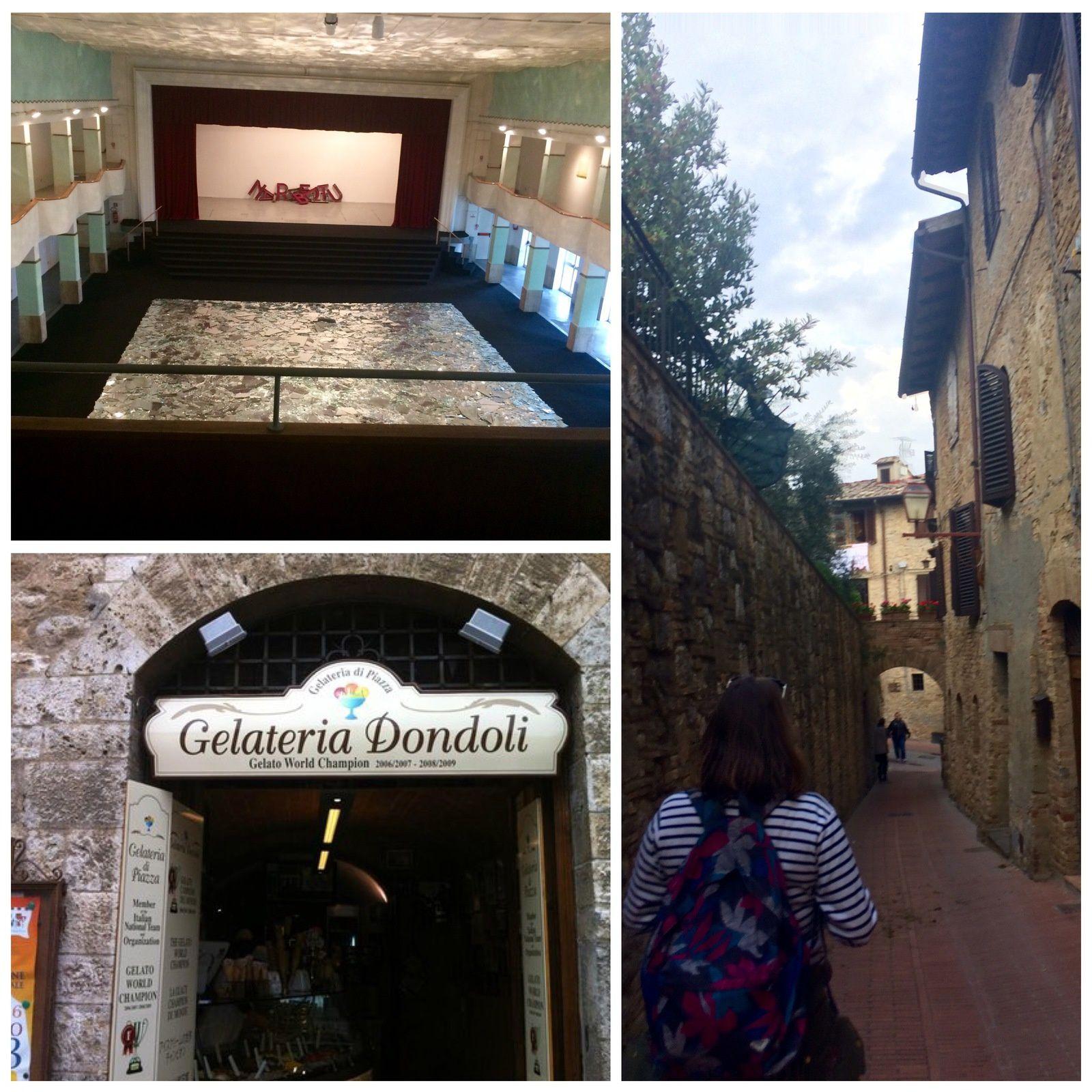 Je ne me souviens pas de San Gimignano (par Louana)