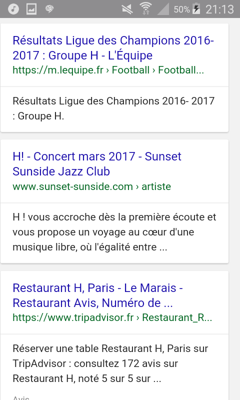 Inspiration - De Barbaut à Google