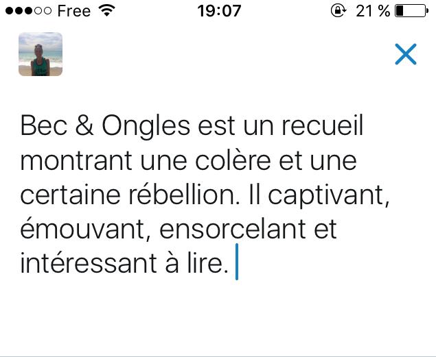 Tweet-Résumé - Perrine Le Querrec