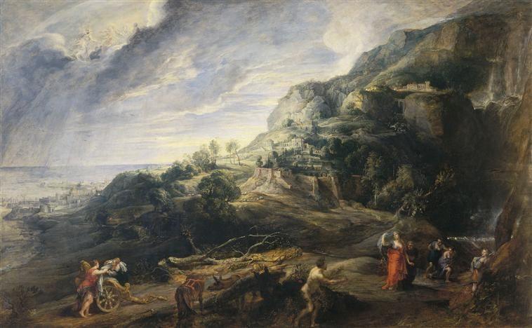 Dialogue entre Lorenzo et Rubens