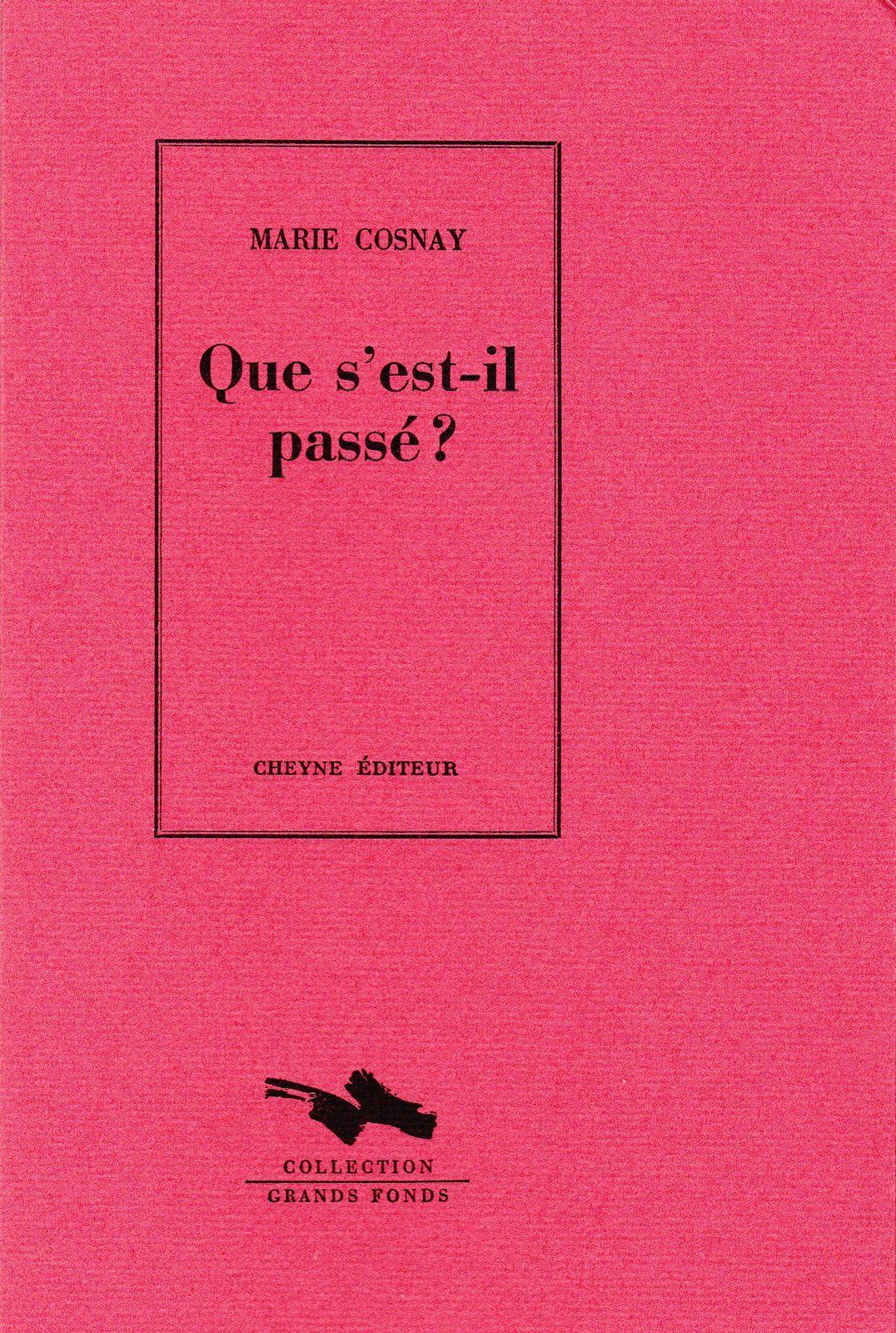 Voix d'aujourd'hui 1 - Marie Cosnay