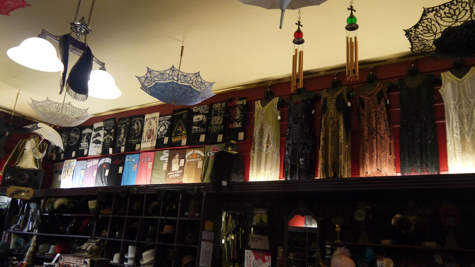 San Francisco : Distraction, boutique steampunk