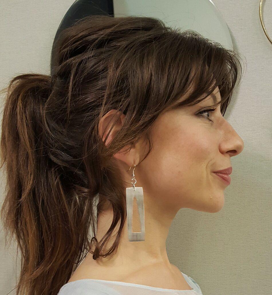Boucles d'oreilles métal