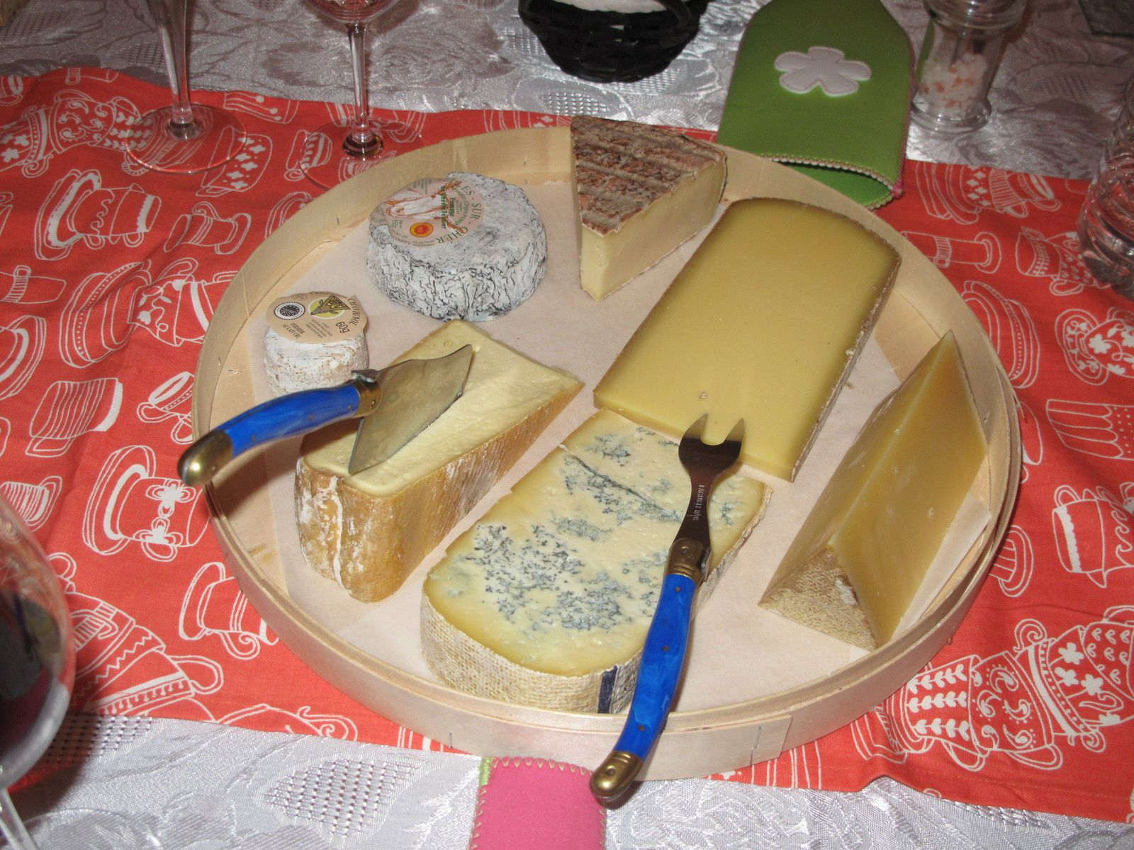 Repas avec Moncuit, Drappier, Cotat, Raveneau, Meo Camuzet, Tardieu-Laurent, Pingus, Lenoir, Delesvaux