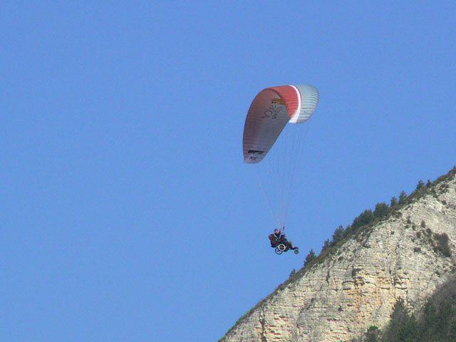Saint André les Alpes : il est libre Jef…( Handisport)