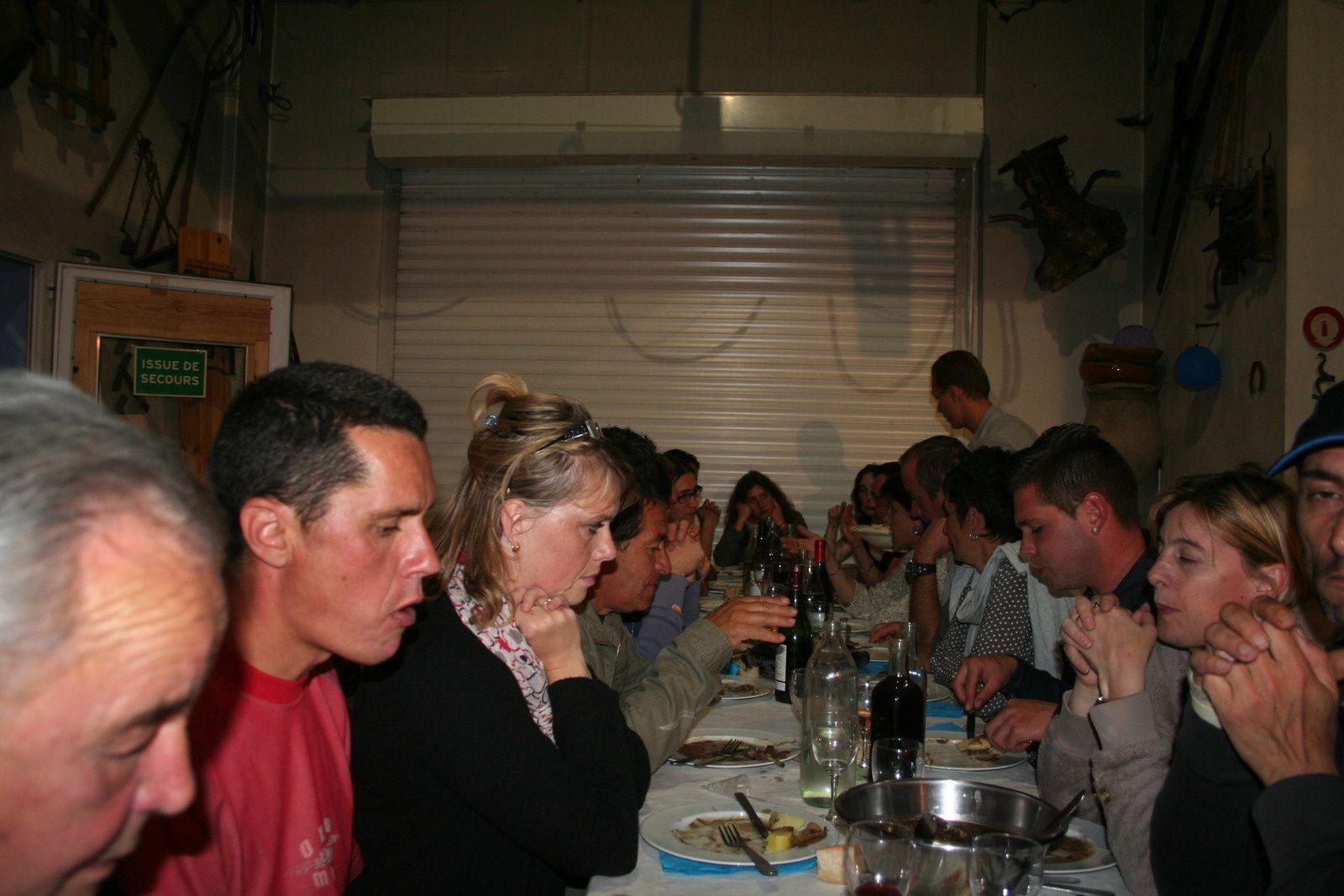 Anniversaire et repas de cohésion Argens