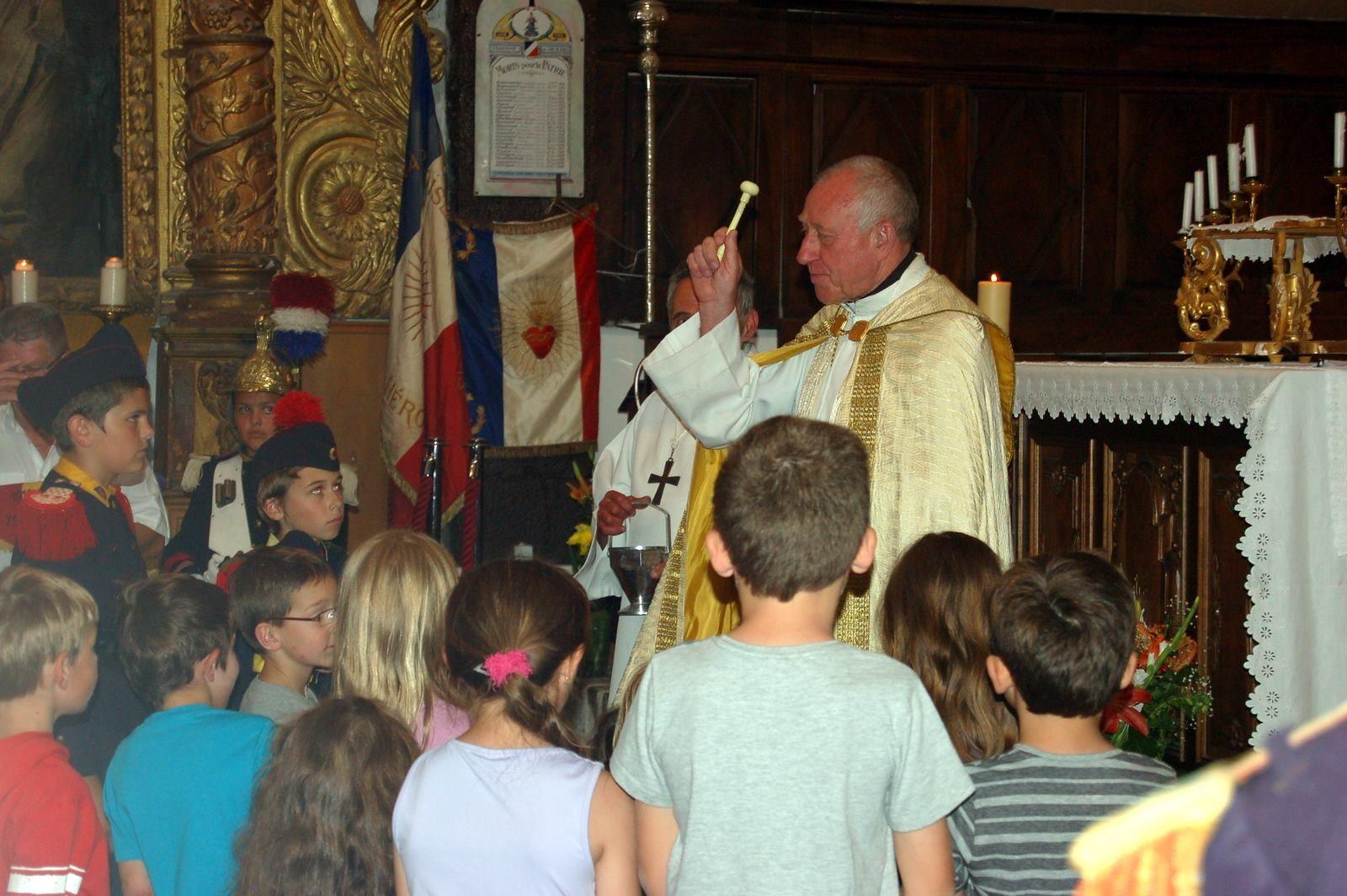 24 juin , Colmars les Alpes , St Jean Baptiste
