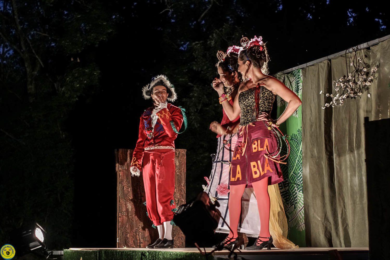 Molière à St Julien du Verdon avec les Cabotins