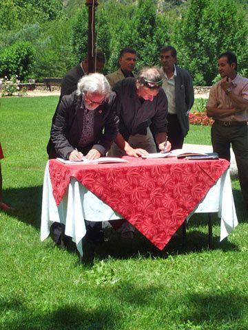 Convention de partenariat entre le réseau des Parcs et l'Union Régionale des Associations de Tourisme