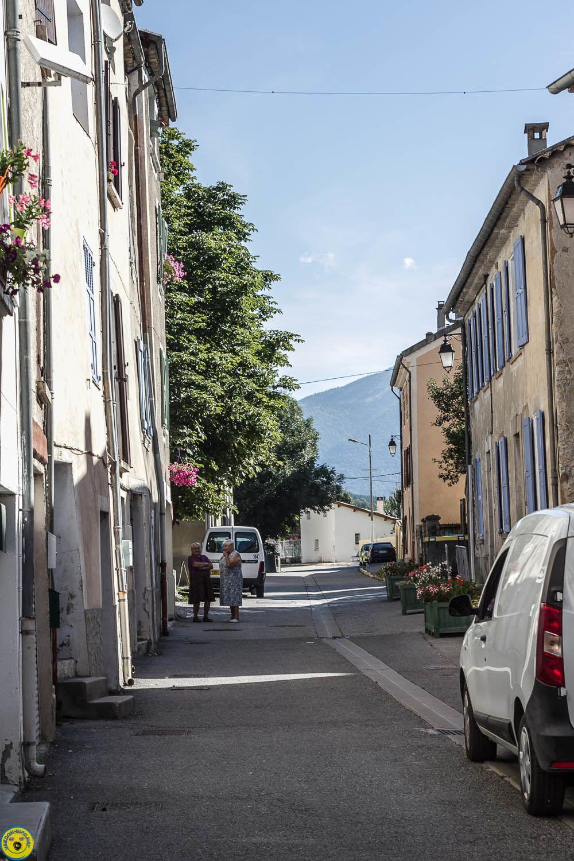 Belle déco de façade , La Grand Rue, St André les Alpes