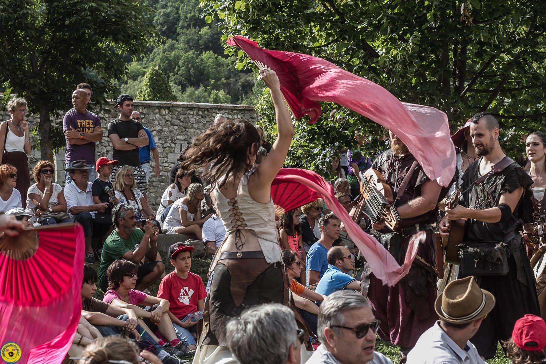 Colmars les Alpes :         Fête médiévale 2014