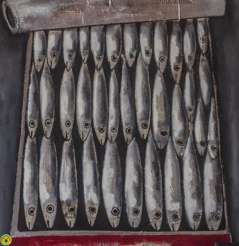 Rencontre entre les sardines , la musique et le vol libre ,St André les Alpes