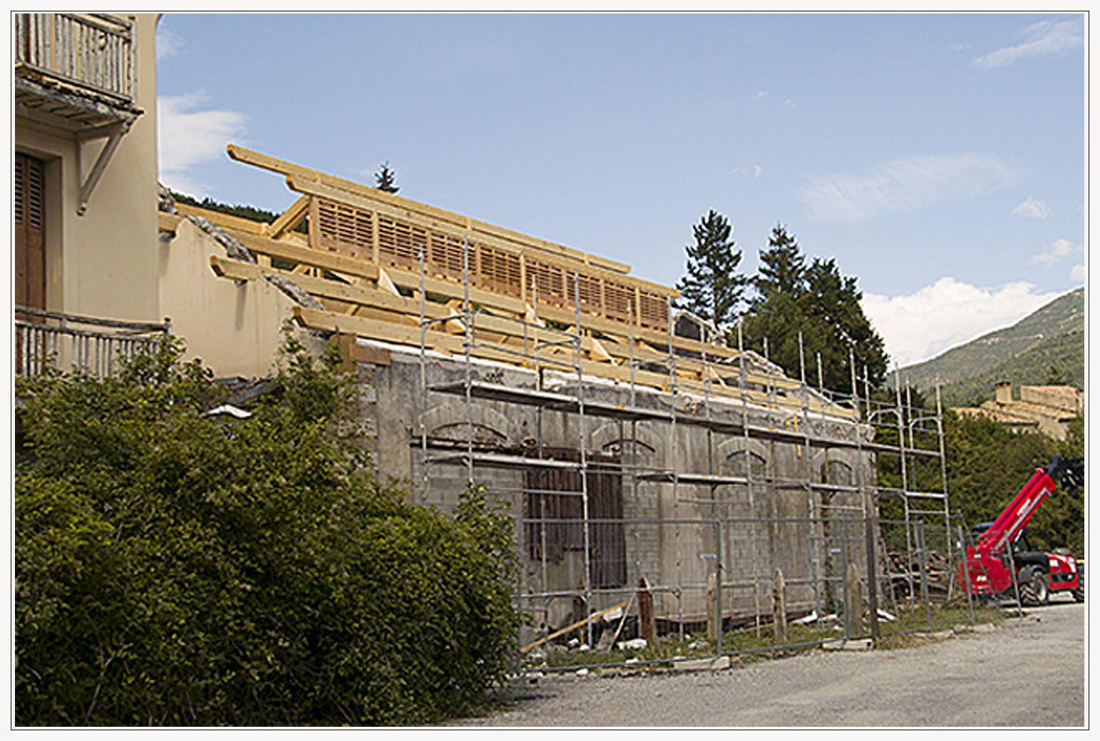 Saint André les Alpes : Les travaux des annexes de la gare sont en bonne voie
