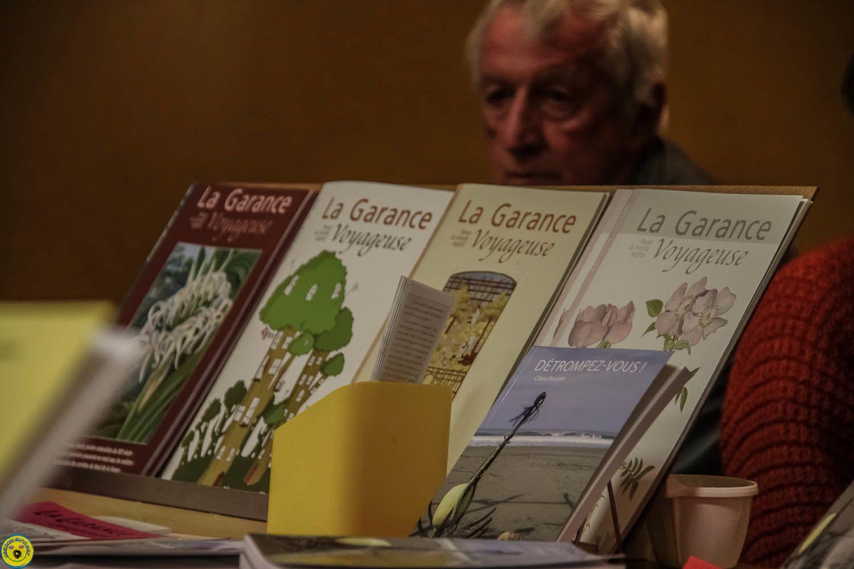 Le festival du livre à Colmars les Alpes.