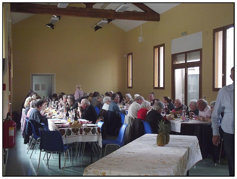 Repas beaujolais du 23 novembre à Barrême