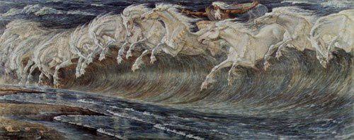 Crane (Walter)- Les chevaux de Neptune