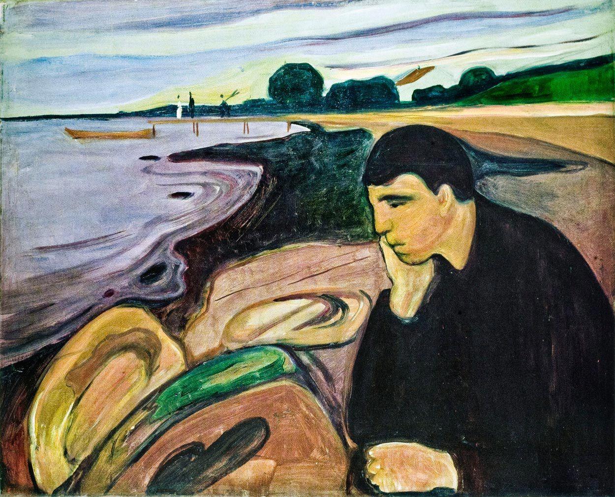 Munch-(Edvard)-melancolie