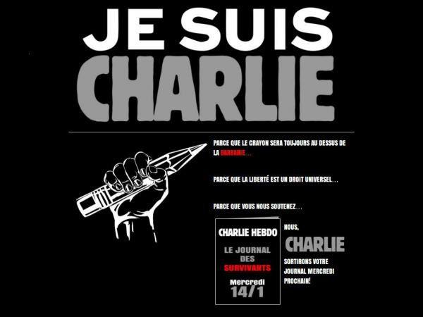 La Marseillaise est entonnée...   Une rumeur du fond de la salle, quelques mains levées  Oui, nous sommes tous Charlie