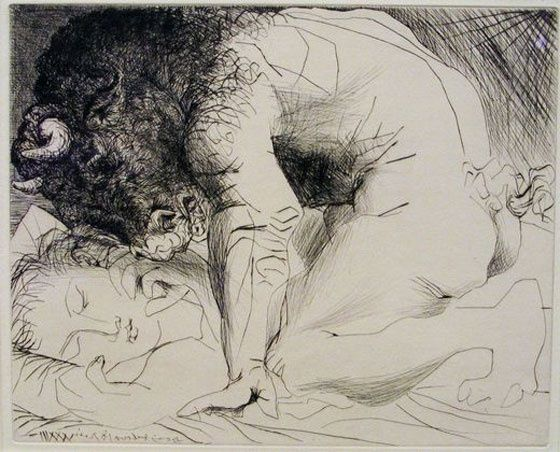 Picasso-Minotaure