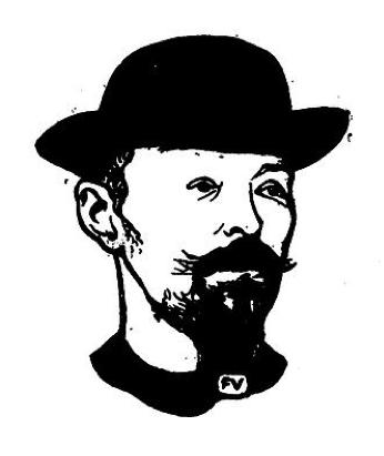 Portrait de Max Elskamp (Félix Valloton)