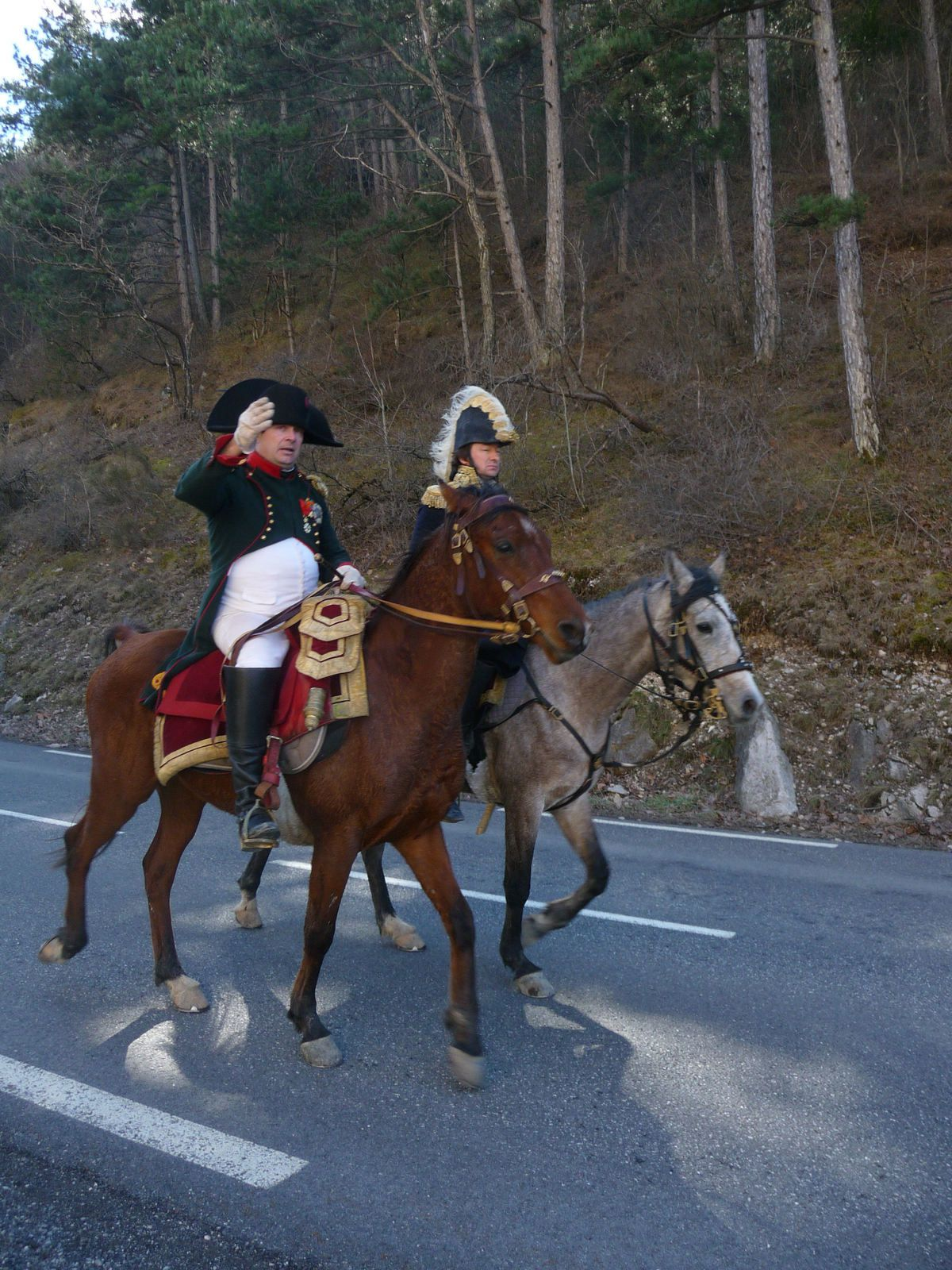 Le bicentenaire du passage de Napoléon à Castellane par la voie impériale