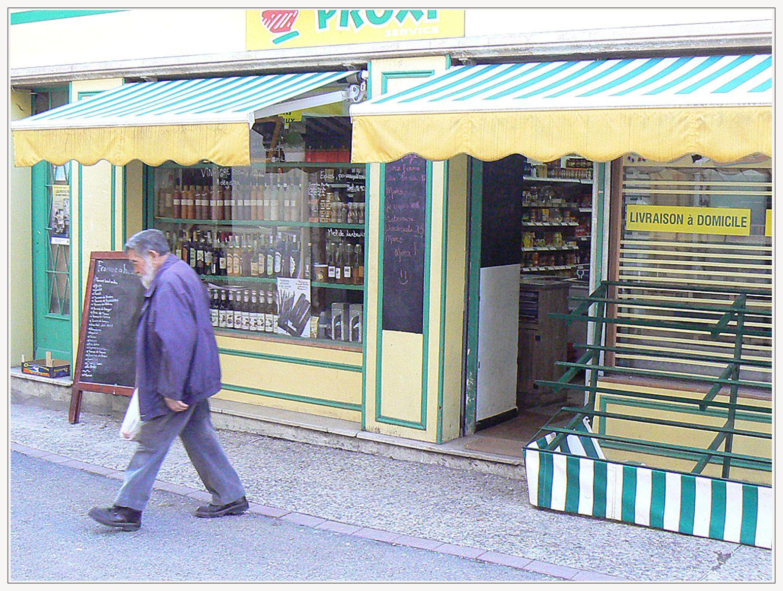 Saint André les Alpes : notre centre du village et ses nouveaux commerçants : (suite)