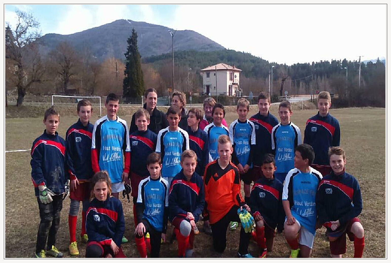 Barrême  : Exploit pour nos jeunes footballeurs