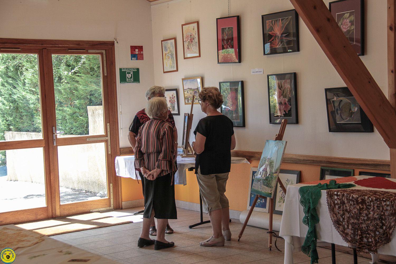 L'Association des loisirs créatifs expose à la Mure Argens