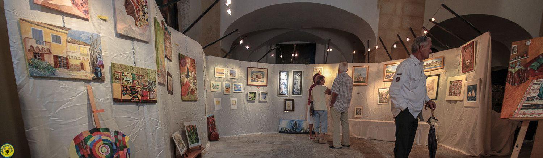 Mjc Castellane Les peintures s'exposent à la Chapelle St Victor