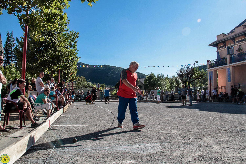 St André les Alpes , la semaine bouliste
