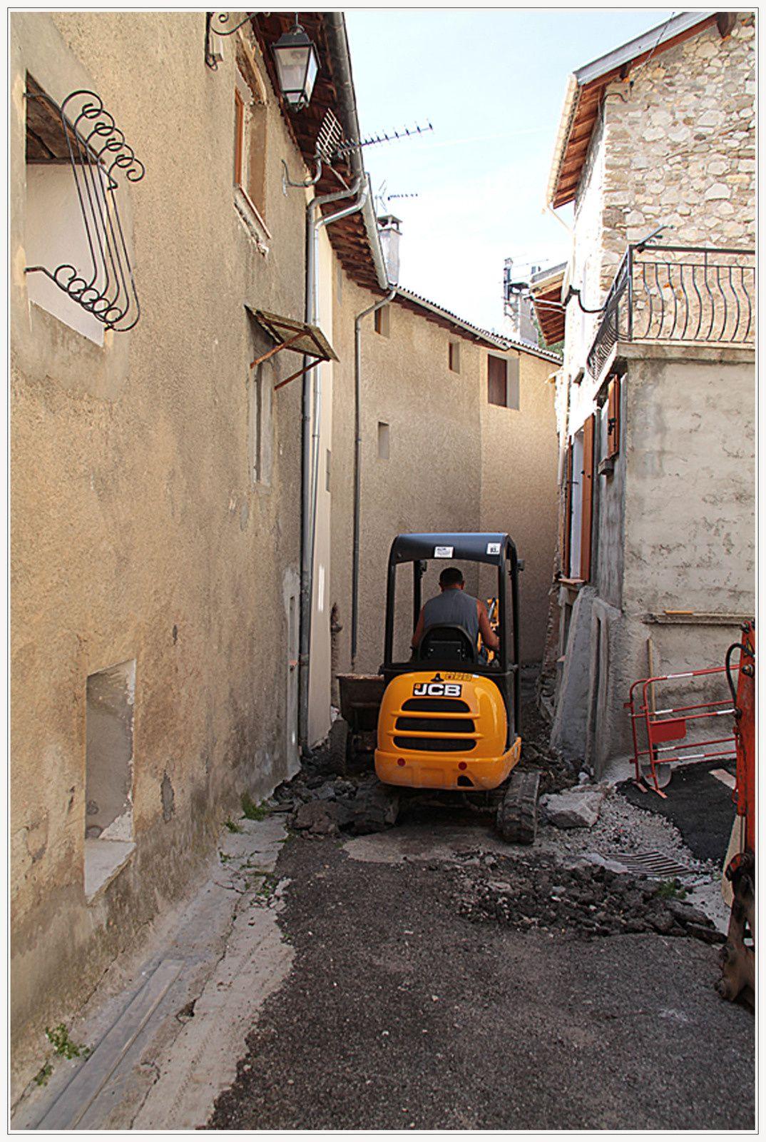 La Mure Argens , les Travaux eau &amp&#x3B;  assainissement