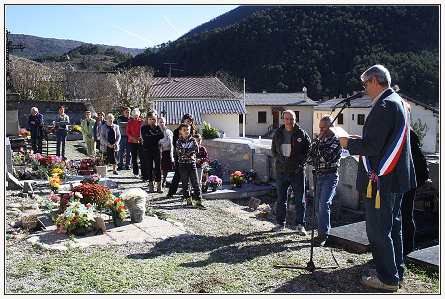 Allons: Commémoration du 11 novembre