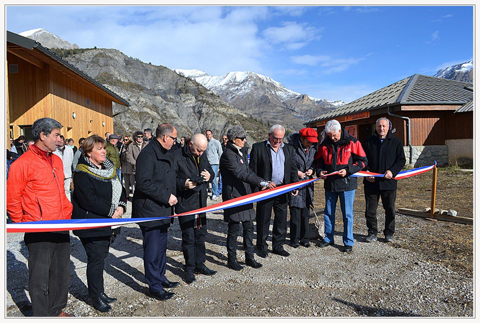 Val d'Allos-le Seignus, inauguration.
