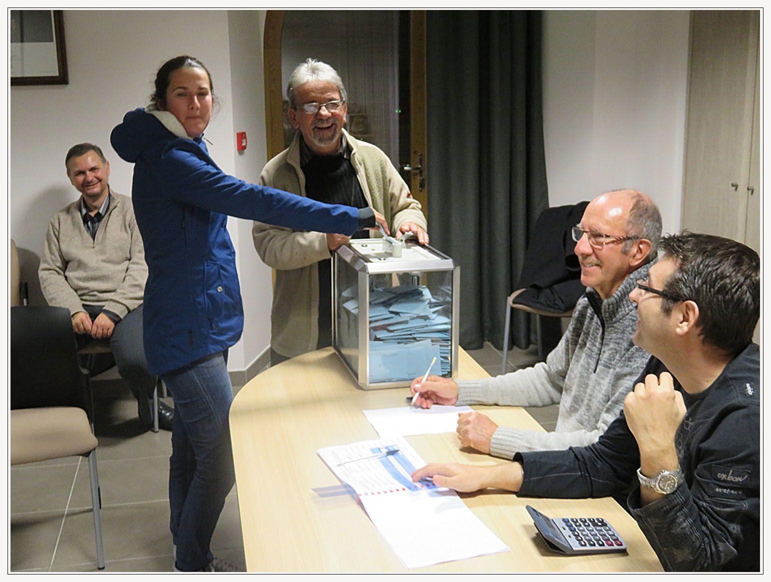 Saint André les Alpes: Bonne participation au premier tour des élections