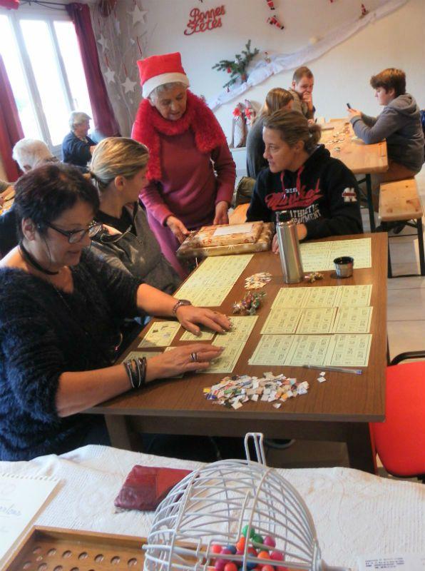 Vergons  : Loto de Noël et Voeux de la Municipalité