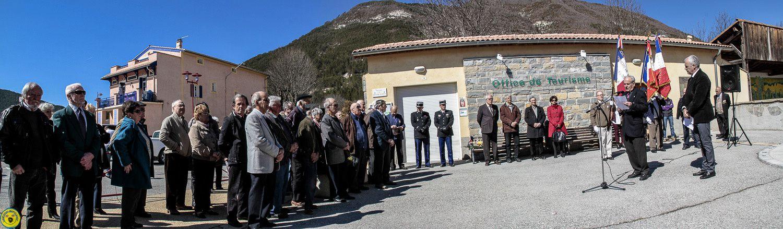 Saint André les Alpes: Commémoration de la fin de la guerre d'Algérie