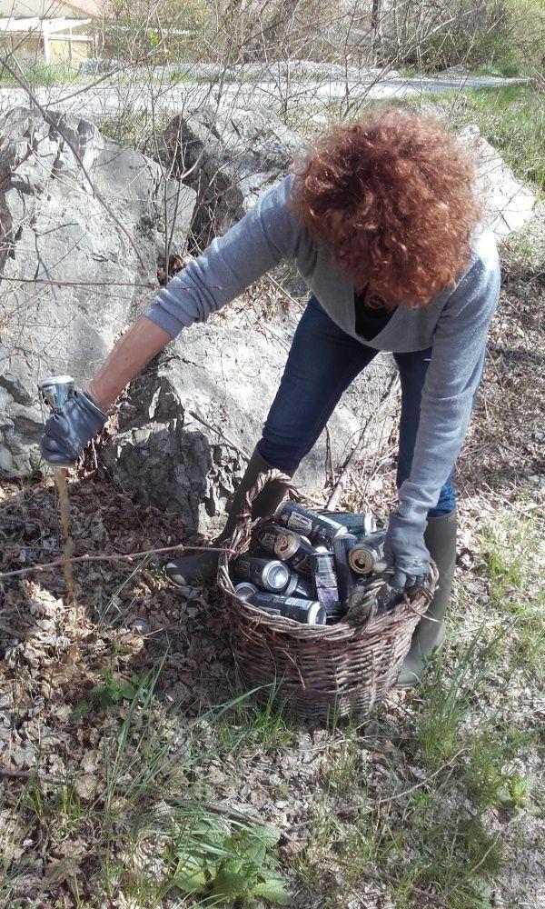 Barrême  : Françoise a craqué et pris les choses en main pour la beauté du paysage local
