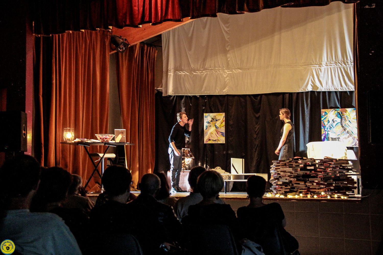 samedi c'était théâtre à St André les Alpes