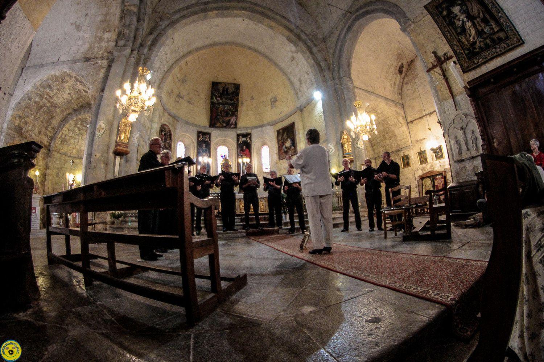 Senez  : Concert des choeurs d'hommes du Val d'Asses