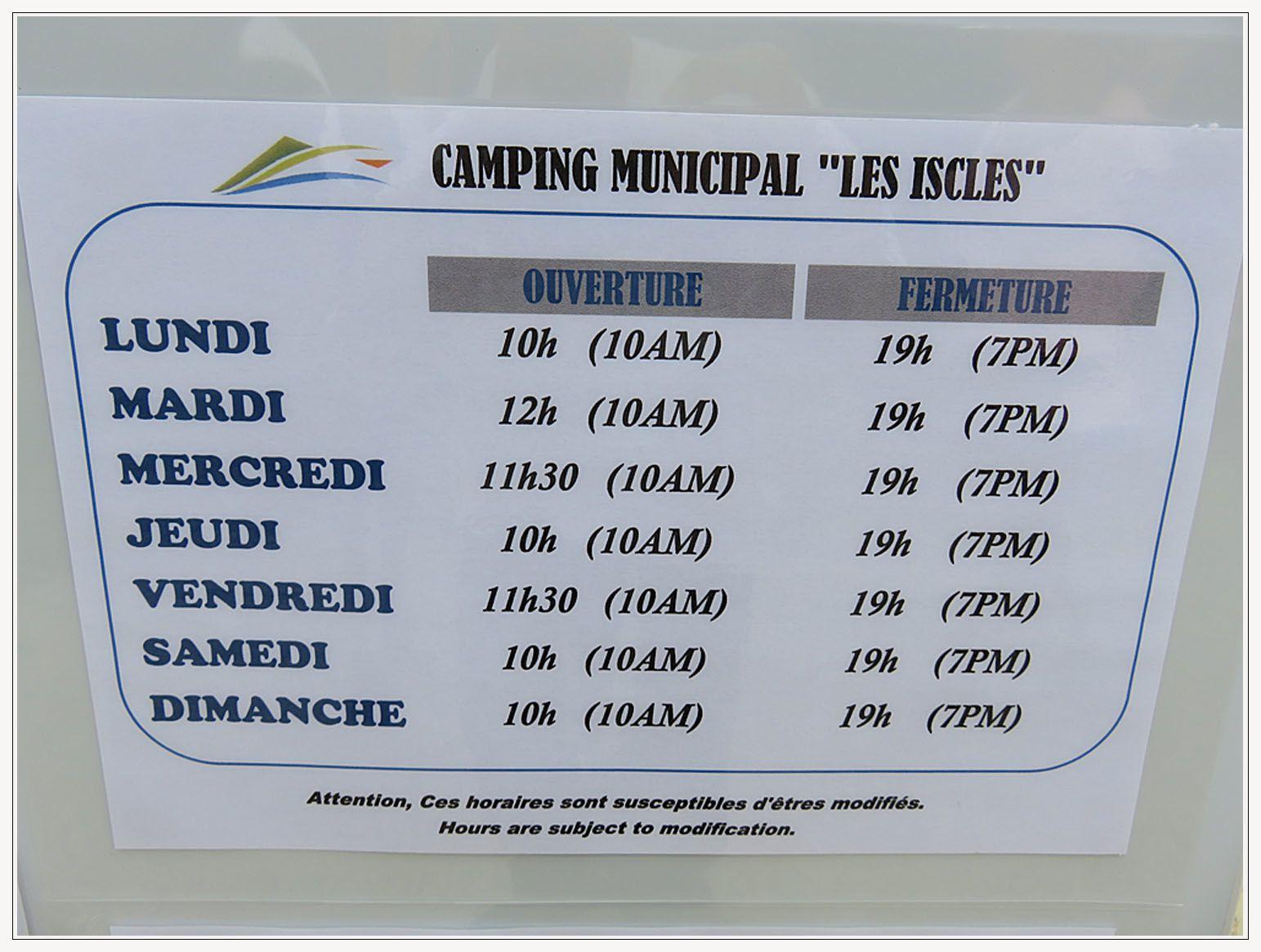 Saint-André les Alpes : Le camping municipal a désormais sa piscine