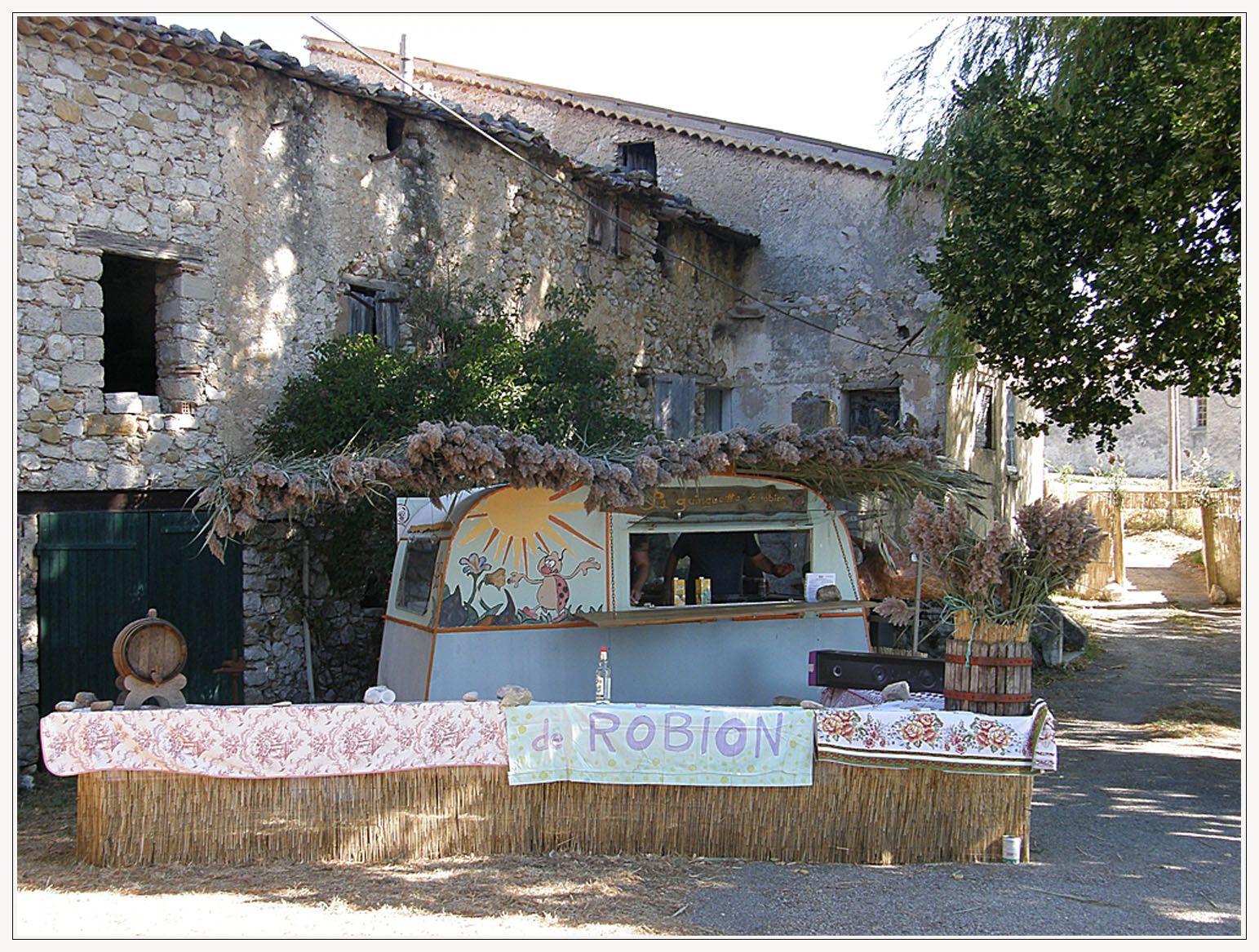 Robion , les Festivités du 21 août 2016