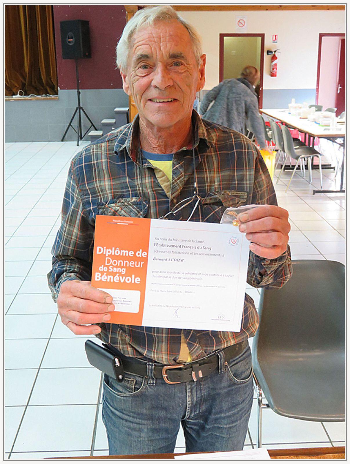 Saint André les Alpes : une collecte de médailles pour les donneurs de sang