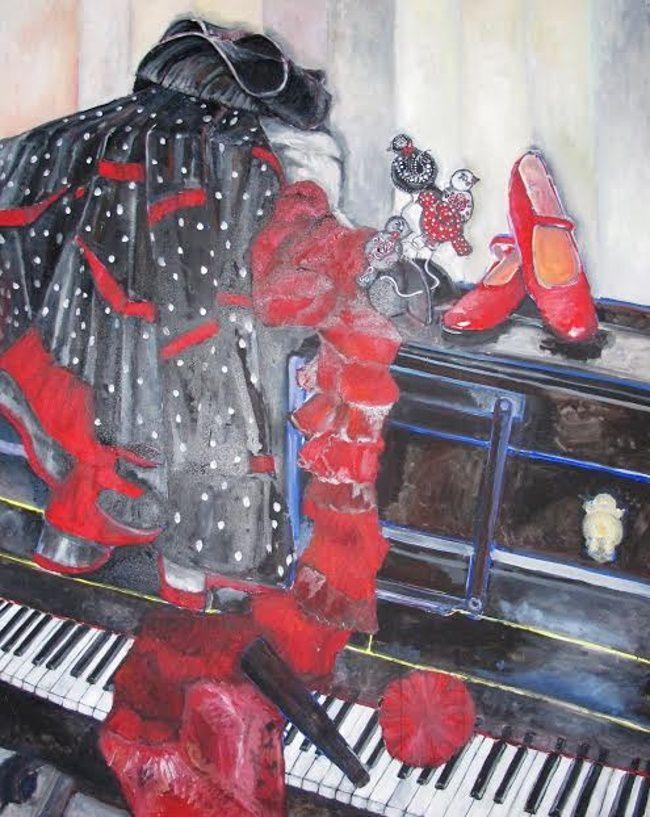 """Clumanc  : Quand """"La musique fait danser la peinture"""""""