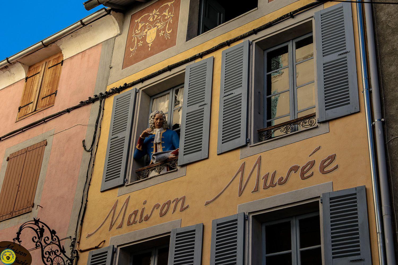 Inauguration de la façade de la maison Musée de Colmars les Alpes