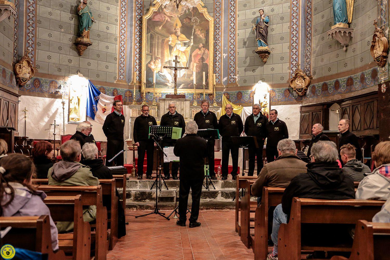 Canto Verdoun et  la Solorma   en concert à Colmars les Alpes